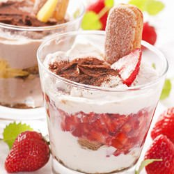Fruit Mousse with Cottage Cheese