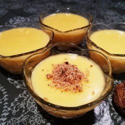 Cream with Pumpkin and Walnuts