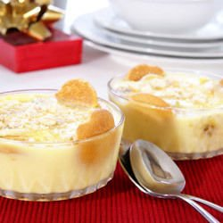 Dessert with Banana and Semolina