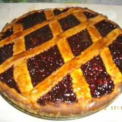 Crostata with Strawberry Jam