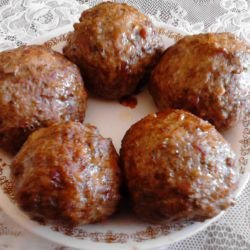 Large Stuffed Meatballs
