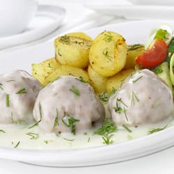 Lamb Meatballs in Yogurt Sauce
