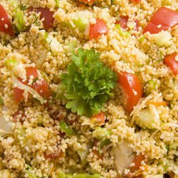 Italian-Style Couscous with Tomatoes