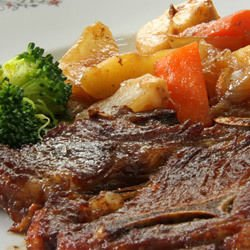 Lamb with Vegetables and Potatoes