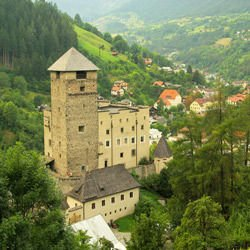 Medieval Fortifications - Landeck Castle