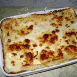 Lasagna with Spinach and Mozzarella