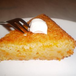 Lemon Cake with Pumpkin and Semolina
