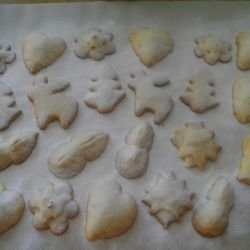 Christmas Turkish Delight Cookies