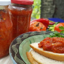 Chutney with Peppers, Eggplants and Carrots