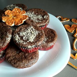Dark Chocolate Muffins with Orange Zest