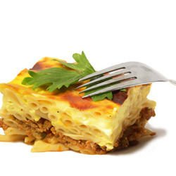 Macaroni with Minced Meat and Béchamel Sauce