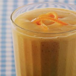 Mango, Banana and Ginger Smoothie