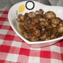 Marinated Mushrooms with Rosemary