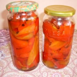 Easy and Tasty Marinated Bell Peppers