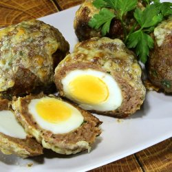 Scotch Eggs Wrapped in Mince