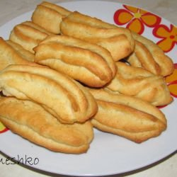 Pastry Bag Butter Biscuits