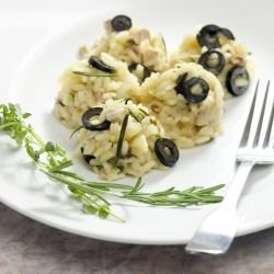 Macedonian-Style Olives with Rice