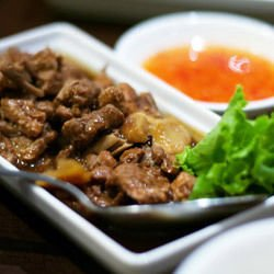 Village-Style Duck Gizzards