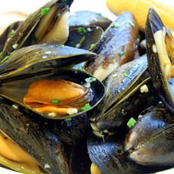 Oven-Made Mussels