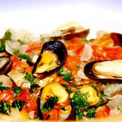 Mussels with Macaroni