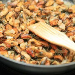 Sailor-Style Baked Mussels