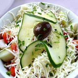 Easy Shepherd's Salad