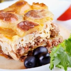 Moussaka with Mashed Potatoes