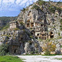 Montserrat National Park - Myra Rock Tombs