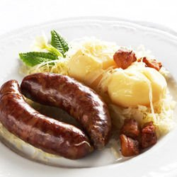 Sausage with White Wine