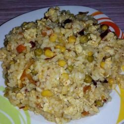 Chinese-Style Rice with Veggies