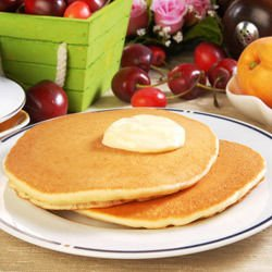 American Pancakes with Yogurt