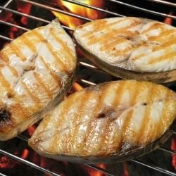 Grilled Black Sea Bonito
