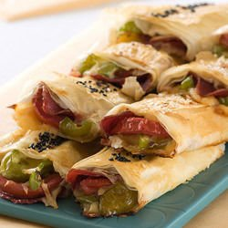 Stuffed Phyllo Pastries with Vegetables