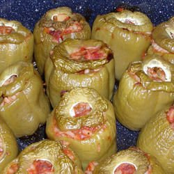 Stuffed Peppers with Potatoes