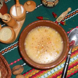 Cracholina (Bulgarian Cabbage Juice Soup)