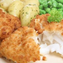 Breaded White Fish