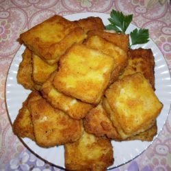 Breaded Cheese Bites