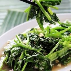 Chinese Fried Spinach