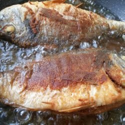 Fried Sea Bream