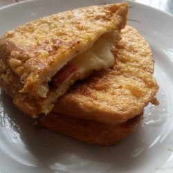 Fried Toast with Filling
