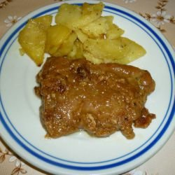 Pork Chops with Garlic