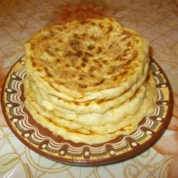 Flatbread with Butter and Mixed Spices