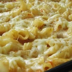 Baked Macaroni and Cheese with Mayonnaise