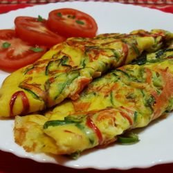 Colorful Omelette
