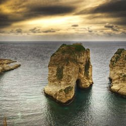 Osaka - Peagons Rock Raouché in Beirut
