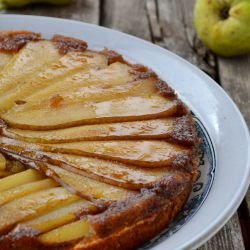 Easy Cake with Pears