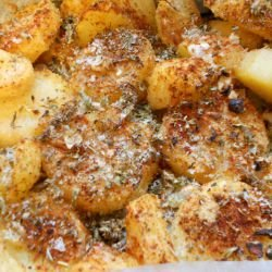 Crunchy Baked Potatoes