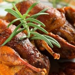 Spiced and Grilled Grouse