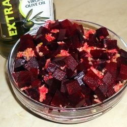 Baked Beetroot Salad