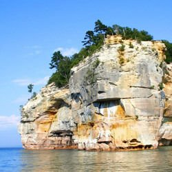 Jungfrau - Pictured Rocks National Lakeshore